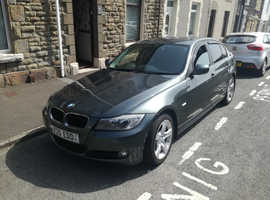 BMW 3 Series, 2010 (10) Green Saloon, Manual Petrol, 82,000 miles