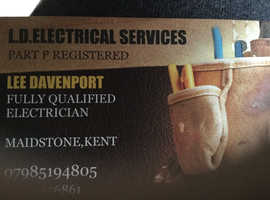 L.D.ELECTRICAL SERVICES. PART P REGISTERED.