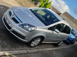 Vauxhall Zafira, 2006 (06) Silver MPV, Manual Diesel, 58,955 miles
