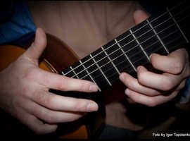 ONLINE PROFESSIONAL GUITAR AND UKULELE  LESSONS   £20 - 30 min.
