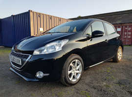 Peugeot 208, 2013 (63) Black Hatchback, Manual Petrol, 34,000 miles