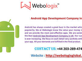 Pick out the top-rated Android App Development Company in UK
