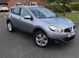Nissan Qashqai, 2010 (10) Grey Hatchback, Manual Petrol, 81,050 miles