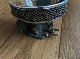 Weber Carburettor twin choke