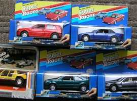 Super Racer die cast models BNIB's 5 items.