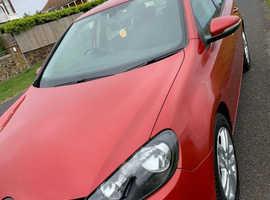 Volkswagen Golf 2009 (59) Red Diesel, 77,350 miles