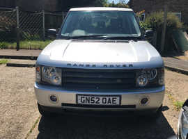 Land Rover Range Rover, 2002 (52) Silver Estate, Automatic Diesel, 99,999,999 miles