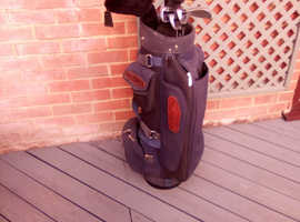 Various Golf Bags  and Clubs