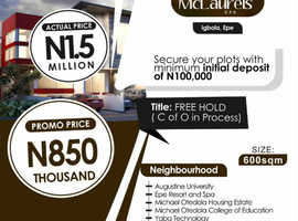 Affordable Plots of Land in Epe  Lagos Nigeria