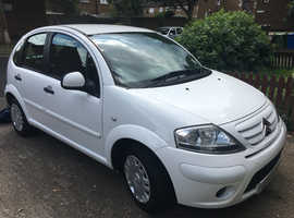 Citroen C3, 2009 (59) White Hatchback, Manual Petrol, 56,000 miles
