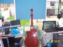 electro acoustic classical guitar