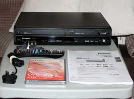 Panasonic DVD VHS Recorder Combo with Freeview - Multi-Region