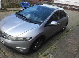 Honda Civic, 2007 (57) Silver Hatchback, Manual Diesel, 106,000 miles