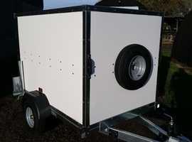 Tickners ECo Box Bo Trailer in White 6' x 4' x 4'