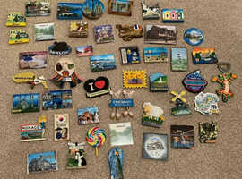 Fridge Magnet collect from U.K. and around the world