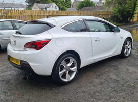 Vauxhall Astra GTC, SRI, 2013 (62) White Hatchback, Manual Diesel