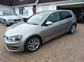 Volkswagen Golf GT, Tdi Bluemotion 2014 (64) Silver Hatchback, Manual Diesel, 31,970 miles