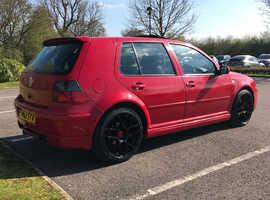 Volkswagen Golf, 2003 (53) Red Hatchback, Manual Petrol, 143,900 miles