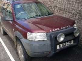 Land Rover FREELANDER S TD4, 2001 (51), Manual Diesel, 148,000 miles