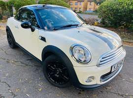 Mini MINI COUPE, 2013 (13) White Coupe, Manual Petrol, 41,000 miles