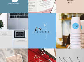 Branding design, web design and business design.