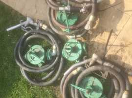 4x sigma K2 diesel transfer pumps