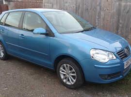 Volkswagen Polo, 2007 (57) Blue Hatchback, Manual Petrol, 47,600 miles