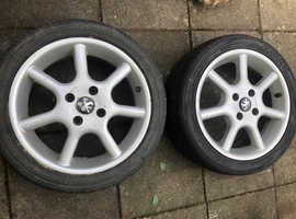 Peugeot 16 inch alloy wheels