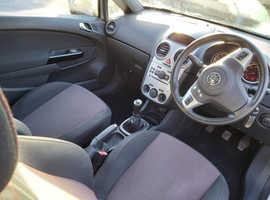 Vauxhall Corsa, 2008 (08) Silver Hatchback, Manual Petrol, 92,000 miles