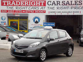 Toyota Yaris, 2013 (63) Grey Hatchback, Manual Petrol, 32,362 miles