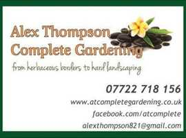 Alex Thompson Complete Gardening