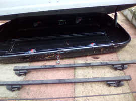 Roof box great condition