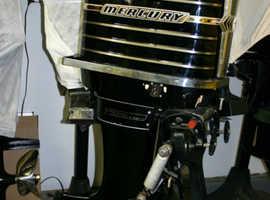 MERCURY 1000- 100 HP OUTBOARD MOTOR/ Engine 1963 MERCURY 1000