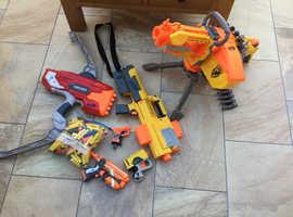 Nerf Gun Bundle with MEGA Thunderbow