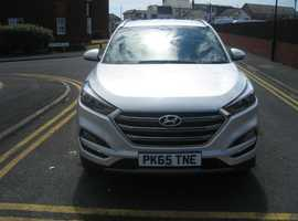 Hyundai Tucson, 2015 (65) Silver Estate, Manual Diesel, 13,656 miles