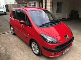 Peugeot 1007, 2006 () Red Hatchback, Manual Diesel, 45,000 miles f.s.h