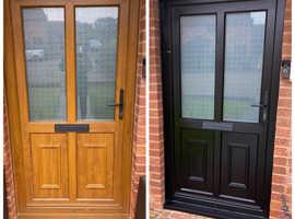 UPVC SPRAYING - WE CAN SPRAY ANY WINDOW, DOOR, GARAGE DOOR TO ANY COLOUR YOU LIKE