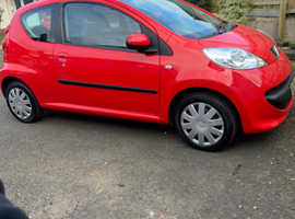 Peugeot 107, 2008 (08) Red Hatchback, Manual Petrol, 48,000 miles