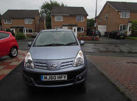 Nissan Pixo, 2010 (60) Grey Hatchback, Manual Petrol, 31,000 miles BARGAIN