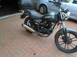 LEXMOTO ZSB CUSTOM STYLE MOTORCYCLE