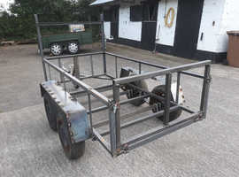 8ftx4ft twin axle trailer frames