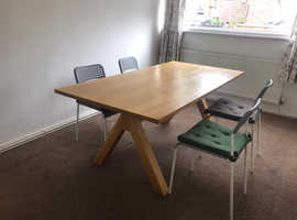 Dining Table (for 8 people) with 4 chairs