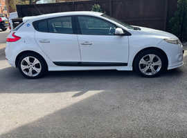 Renault Megane, 2009 (59) White Hatchback, Manual Petrol, 96,000 miles