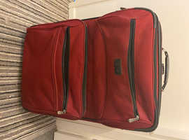 FREE large red suitcase