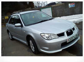 Subaru Impreza, 2007 (07) Silver Hatchback, Manual Petrol, 100,350 miles
