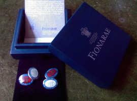 Very Rare Bespoke Trafalgar 200 Cuff Links - Limited Edition by Fiona Rae