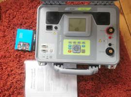 For sale Metrel mi 3252 MicroOhm 100A electrical tester