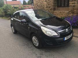 Vauxhall Corsa, 2011 (11) Black Hatchback, Manual Petrol, 80,000 miles
