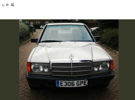 Mercedes 190, 1988 (E) Silver Saloon, Automatic Petrol, 125,244 miles