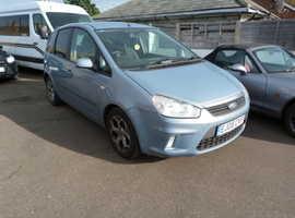 Ford C-Max, 2008 (08) Blue MPV, Automatic Petrol, 88,000 miles